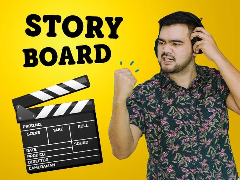 สอนคิด Storyboard